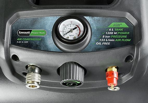 Kawasaki 603010980 Compresor, 1200 W, 240 V: Amazon.es: Bricolaje y herramientas