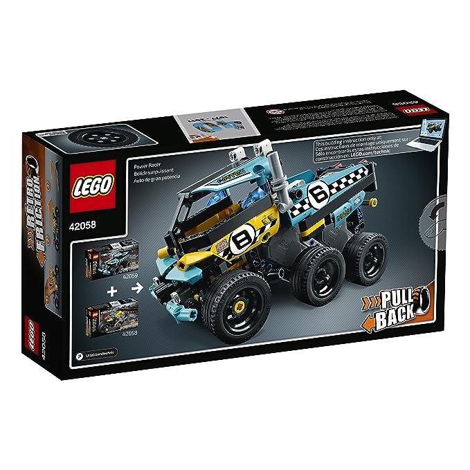 Amazon Lego Technic Stunt Bike 42058 Advanced Vehicle Set Toys
