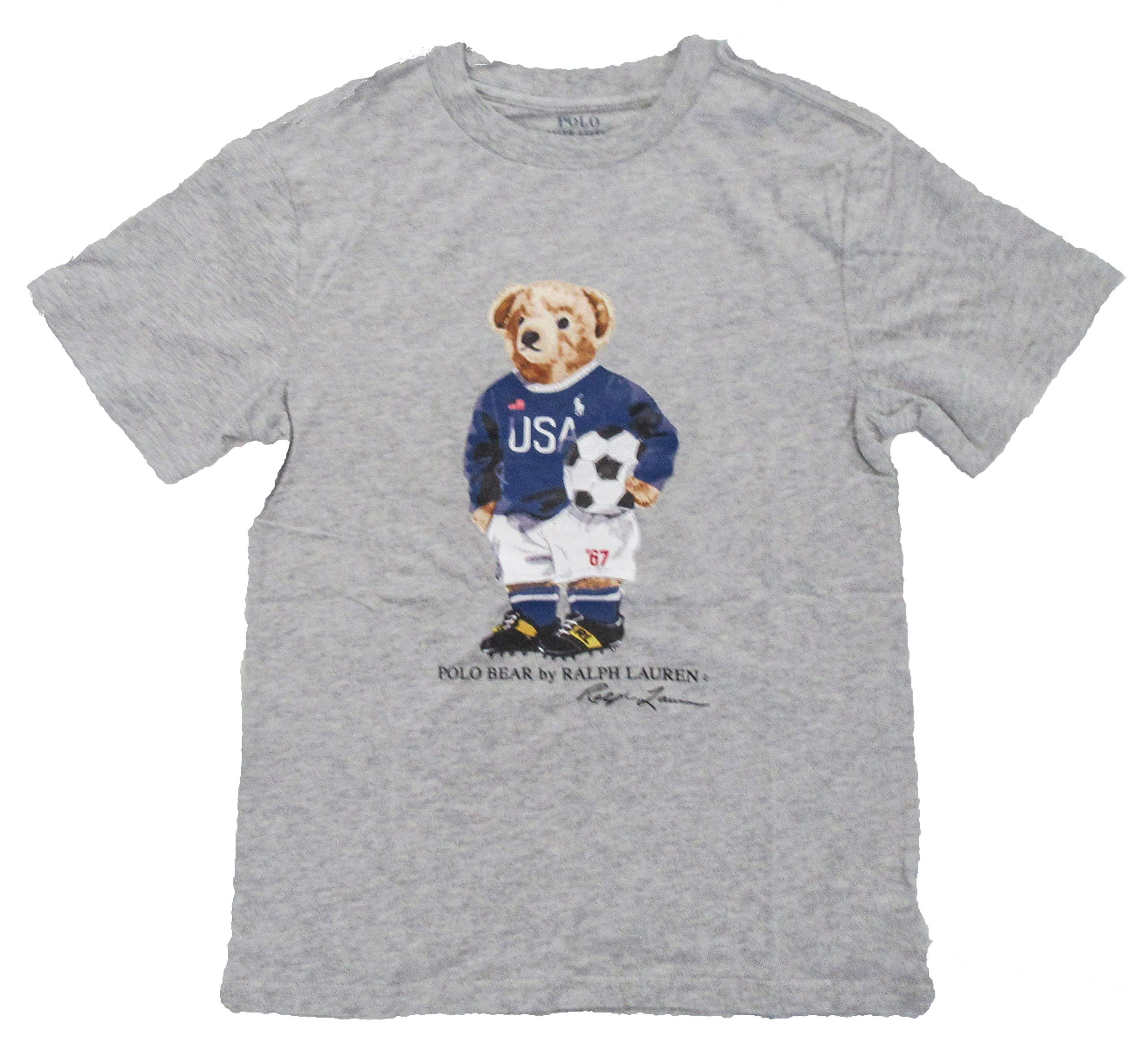 148e6209 Galleon - Polo Ralph Lauren Kid's Polo Bear Short Sleeve ...
