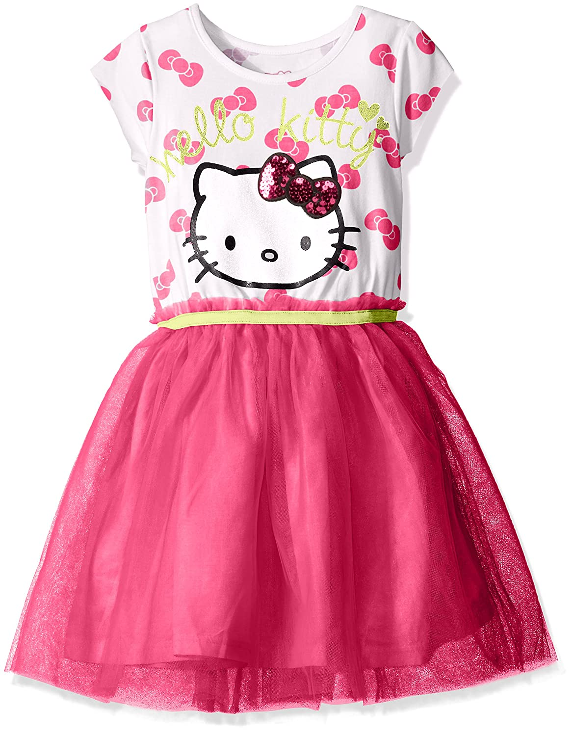 Hello Kitty Girls' Embellished Tutu Dress K06506AM