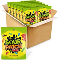 Sour Patch Kids Soft & Chewy Candy, 3.6 Ounce Bags (Pack Of 12)