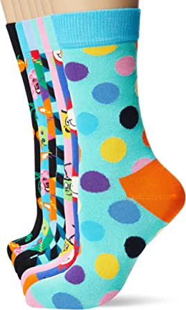 Happy Socks 7-Day Gift Box, Calcetines para Hombre