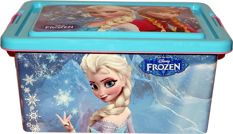 Disney Frozen Contenedor 7 litros con Tapa y Cierres, Caja ...