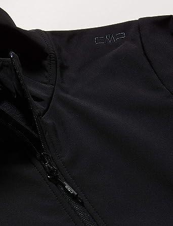 CMP Softshell Chaqueta Soft shell para ni/ña color negro u901 talla 164