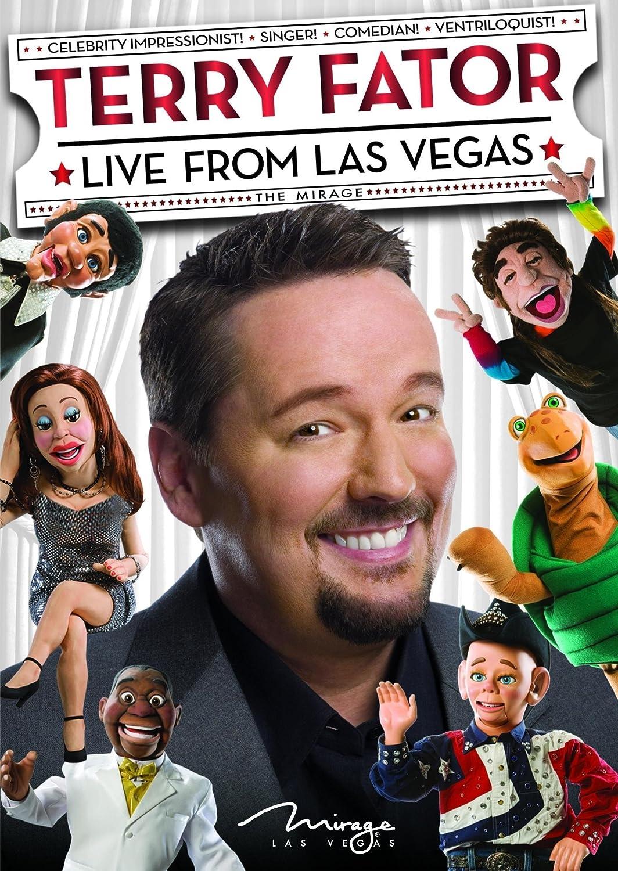 Amazon com: Terry Fator: Live from Las Vegas: Terry Fator