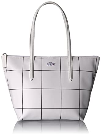 Lacoste L.12.12 Concept Fantaisie Small Shopping Bag, 943 White ...