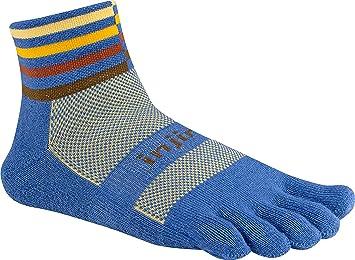 Injinji Socks Trial Peso Medio Equipo Mini Calcetines Para Correr Desierto - Desierto, Small