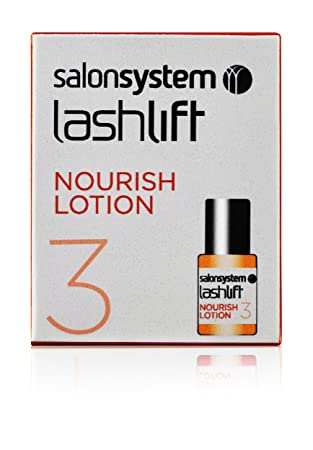 bd9c2116d3b salonsystem Lashperm Nourishing Lotion 4 ml: Amazon.co.uk: Beauty