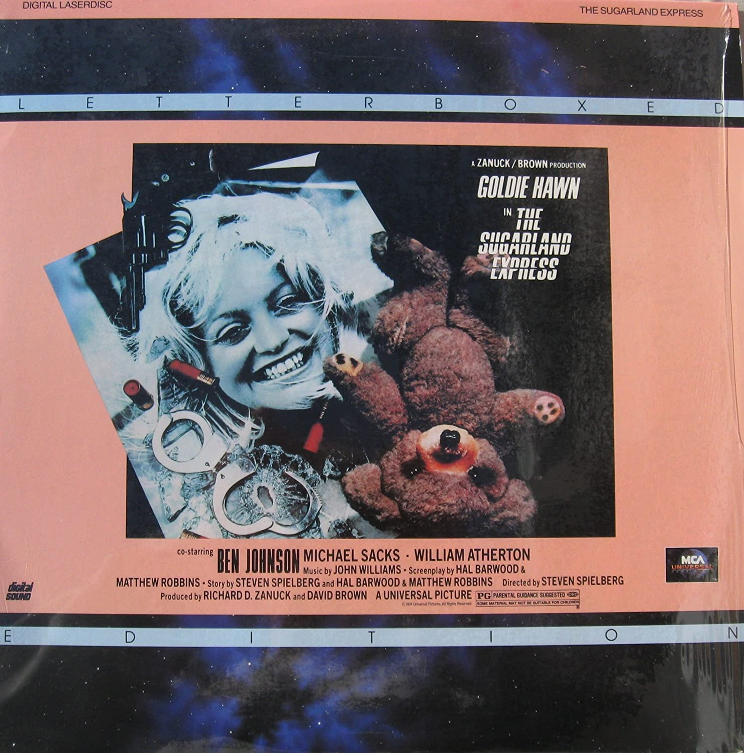 THE SUGARLAND EXPRESS laserdisc