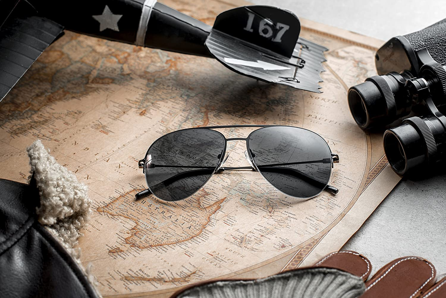 1db97964f23 Miami Sunglasses Source · Prive Revaux The Ace Handcrafted Designer Aviator Sunglasses  Black