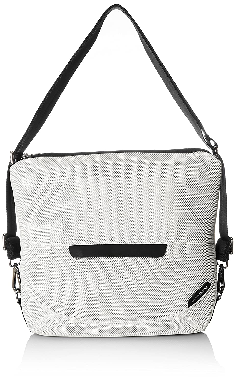 White (Marshmallow 15x) Mandarina Duck Women's Slide Mesh Tracolla Shoulder Bag