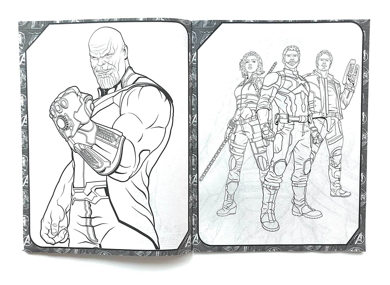 Game Para Colorear: Dibujos Para Pintar De Avengers End Game