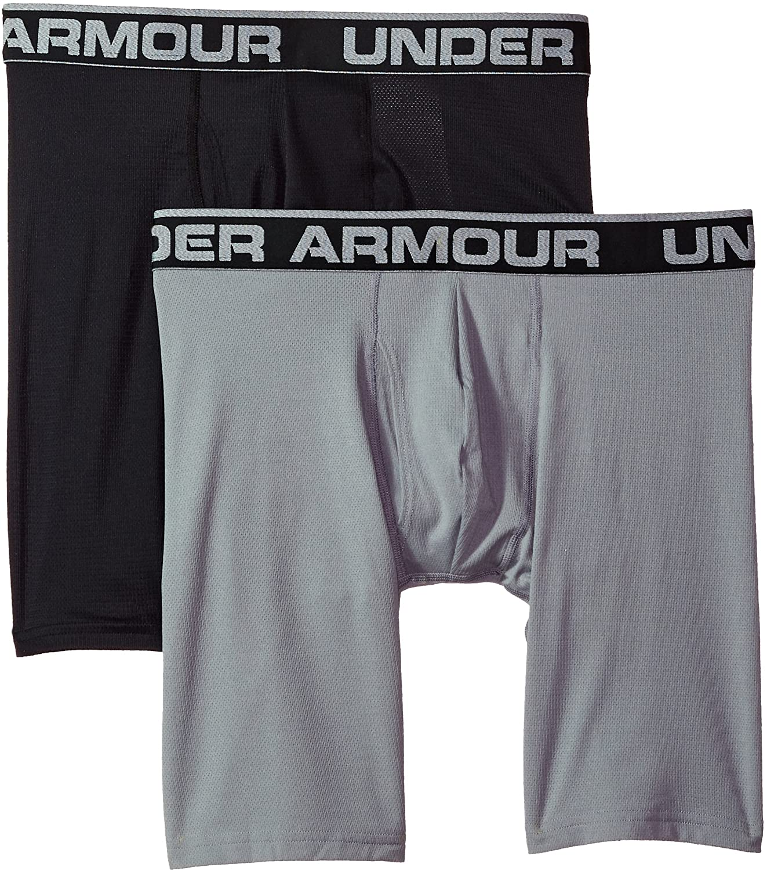Under Armour UA Tech 3 Boxerjock 2-Pack XL Black