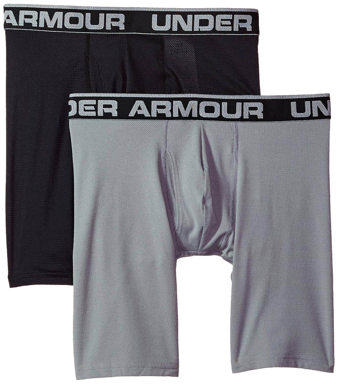 Under Armour Mens Tech Mesh 9 Boxerjock 2-Pack