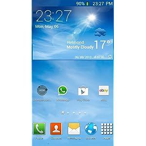 Galaxy S4 clock FREE: Amazon es: Appstore para Android
