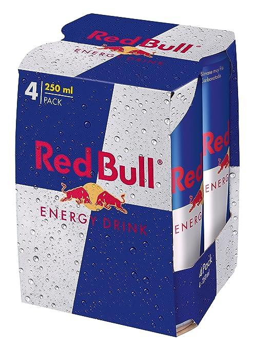 2 opinioni per Red Bull- Bevanda Energetica- 3 confezioni da 4 Lattine da 250 ml [12 lattine, 3
