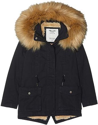 d7c3f1c46738d Teddy Smith Pauryle Jr Manteau Fille: Amazon.fr: Vêtements et accessoires