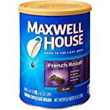 Maxwell House French Roast Ground Coffee, 11-Ounce Cannister (Pack of 3)