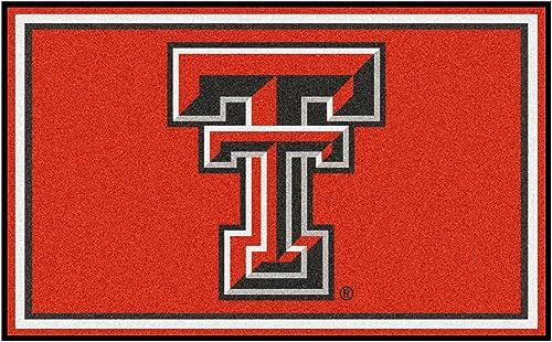 Fanmats Texas Tech Red Raiders Rug 4×6