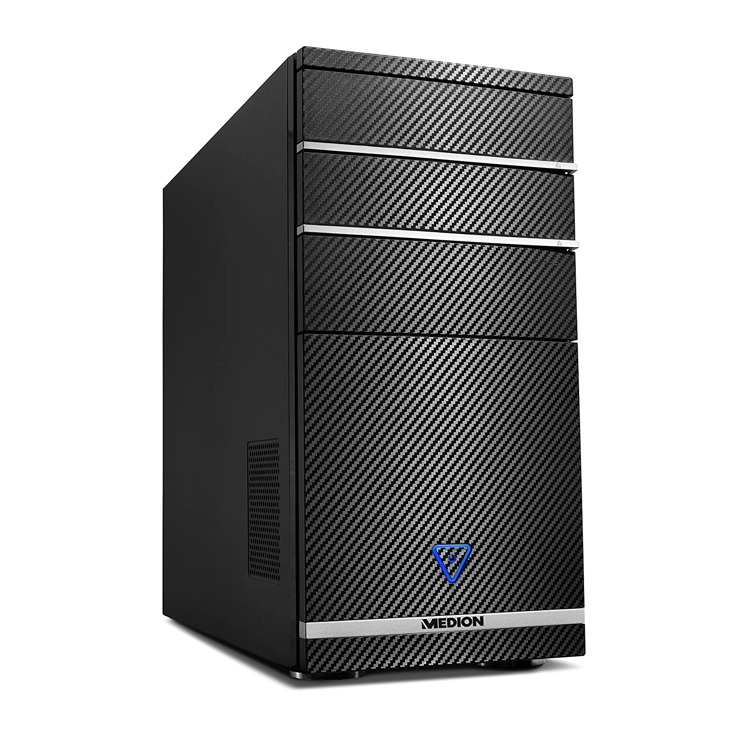 Medion M11 - Ordenador de sobremesa (AMD A8-8650, nVidia GeForce GTX750-2 GB DDR5, Disco Duro de 1 TB, 8 GB de RAM, Windows 10) Negro