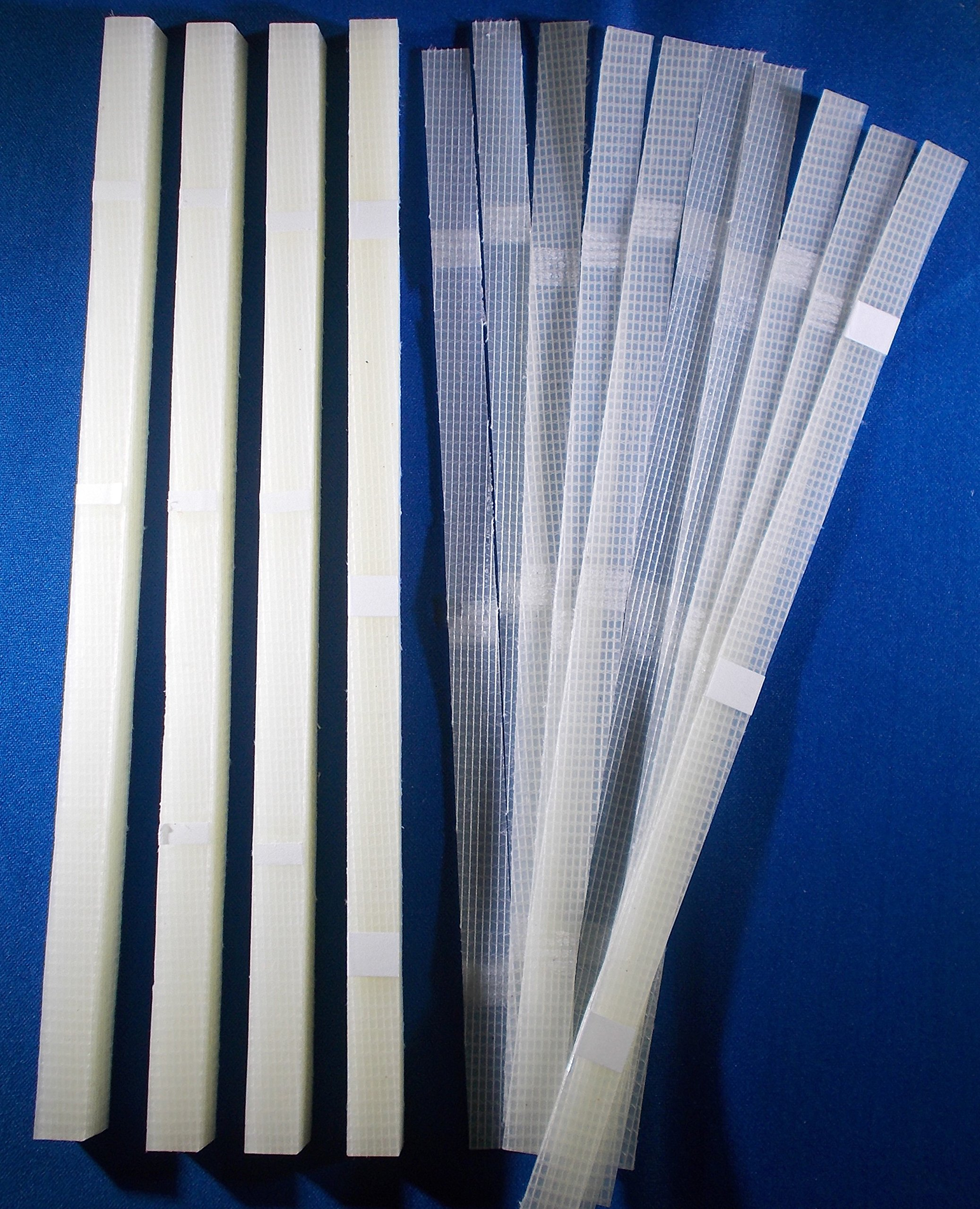 ThermoBind 50Pcs 1/2'' (12mm) Glue Strips with mesh Backing - 80-110 Sheet Capacity by ThermoBind