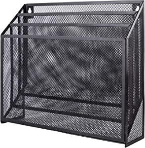 AmazonBasics 3 - tier File Organizer, Black Mesh