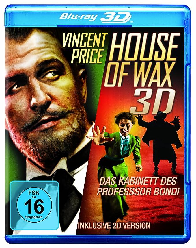 House of Wax - Das Kabinett des Professor Bondi (Blu-ray 3D + 2D) [Alemania] [Blu-ray]