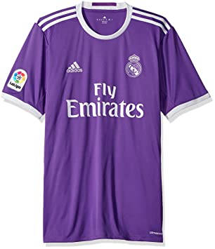 Amazon.com   adidas Men s Real Madrid 16 17 Away Ray Purple Crystal White  Jersey   Sports   Outdoors ee50f5445
