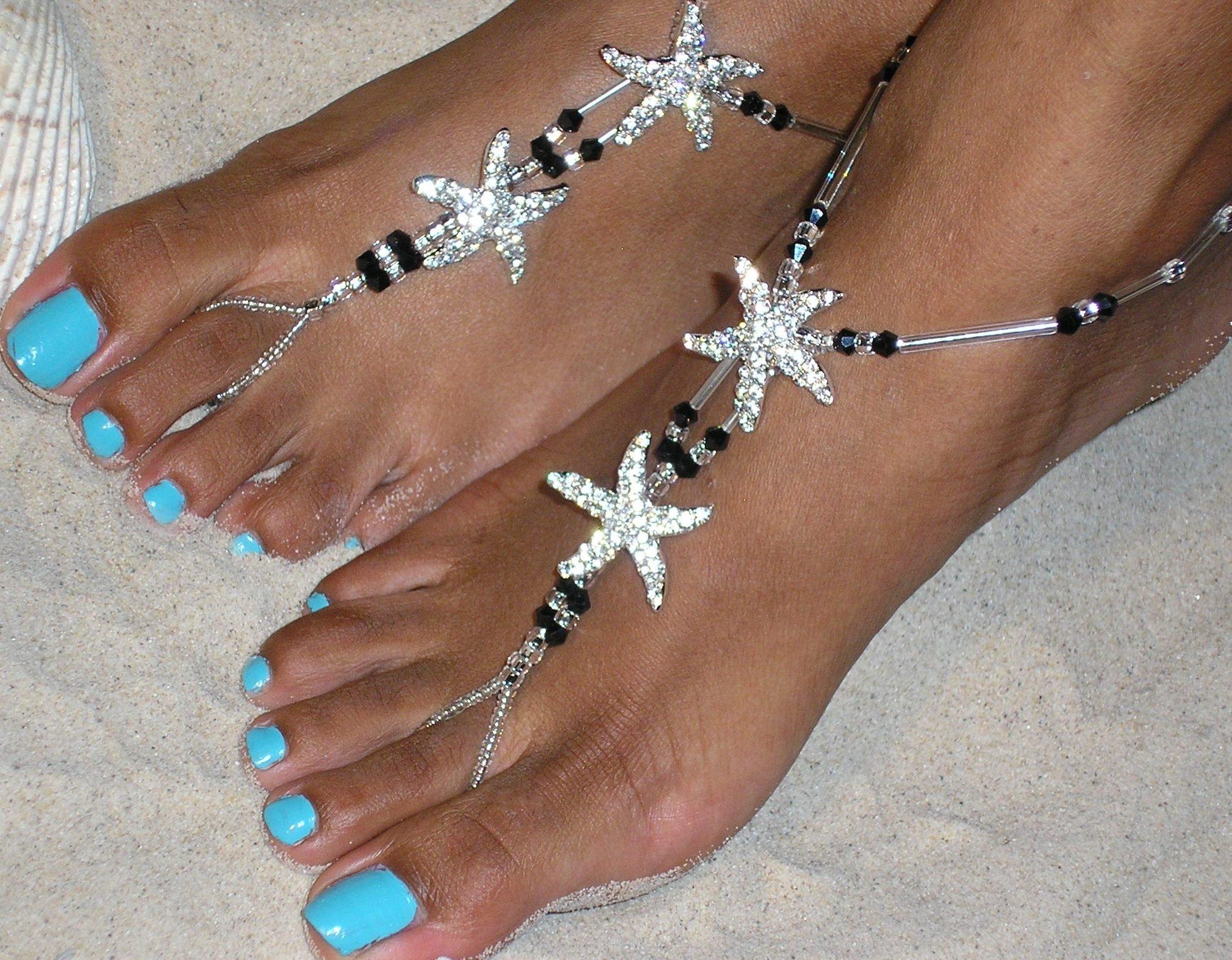 The Estelle Barefoot Sandal