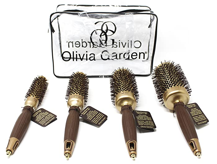 The Best Olivia Garden Nanothermic Brush 8282