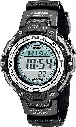 Casio SGW100-1V - Reloj Digital de Doble Sensor, Color Negro ...