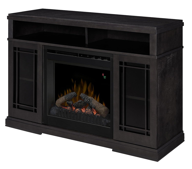 Amazoncom Dimplex Farley Media Electric Fireplace Console - Dimplex electric fireplaces