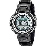 Casio Relógio digital masculino SGW100 com sensor duplo, Cinza, One Size, SGW100-1V