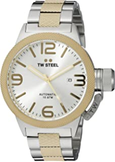 TW Steel Mens CB35 Analog Display Quartz Two Tone Watch