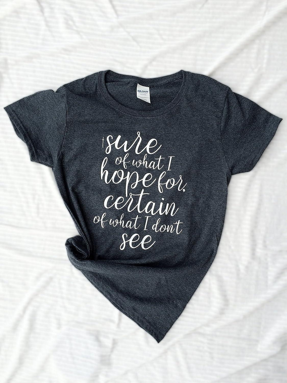 3d8f9a9640f57 Amazon.com  faith in god womens shirt