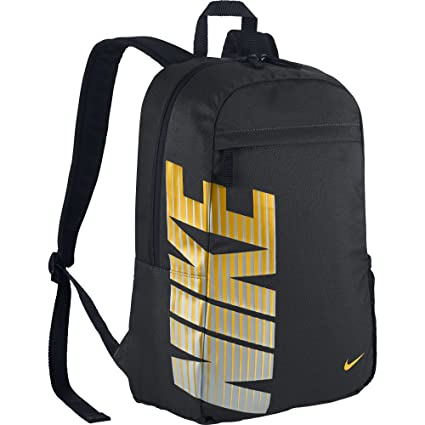 a8b42e95f2f Nike Classic Sand 2016 Backpack (Black Yellow)  Amazon.in  Sports, Fitness    Outdoors