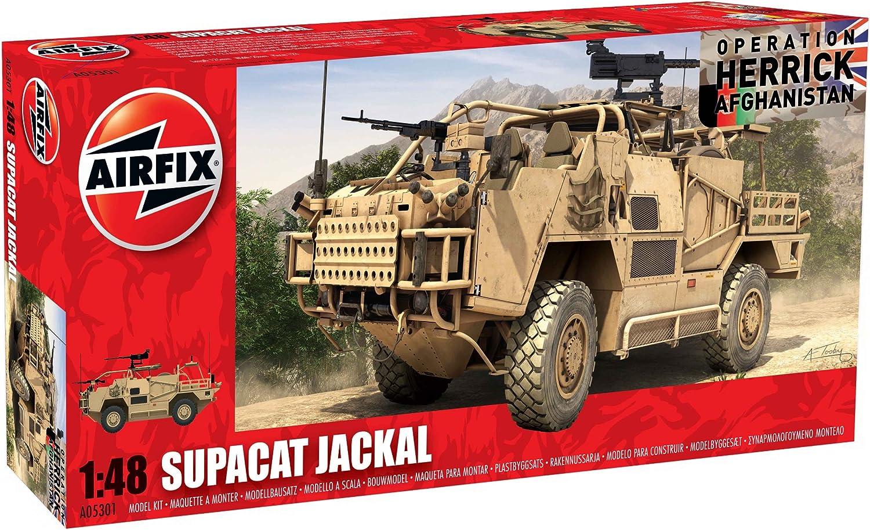 Airfix A05301 MWMIK Jackal 1:48 Scale Series 5 Plastic Model Kit