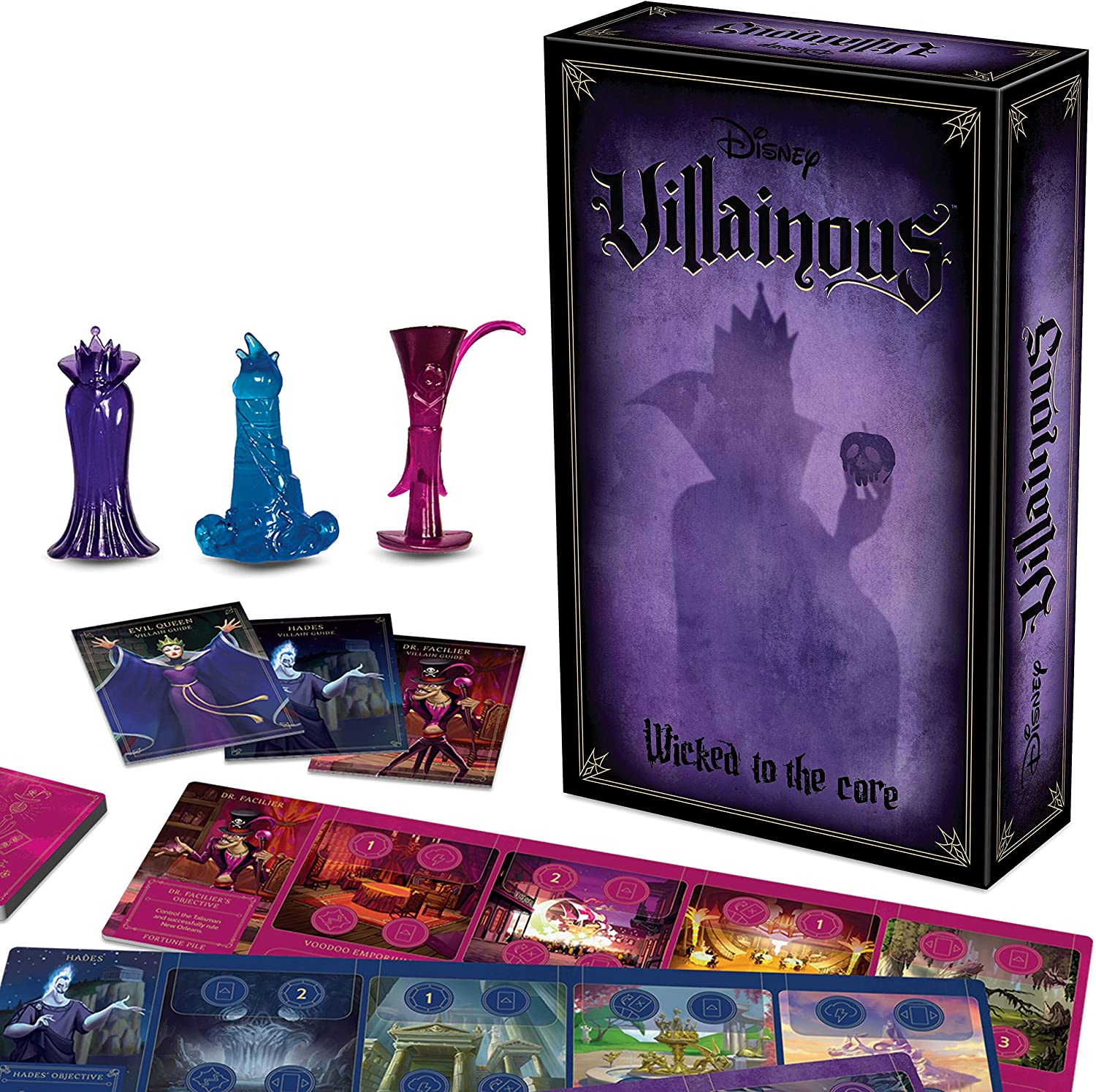 Ravensburger Disney Villainous: Wicked to The Core Strategy Board Game for Age 10 & Up - Stand-Alone & Expansion to The 2019 Toty Game of The Year Award Winner: Amazon.es: Juguetes y