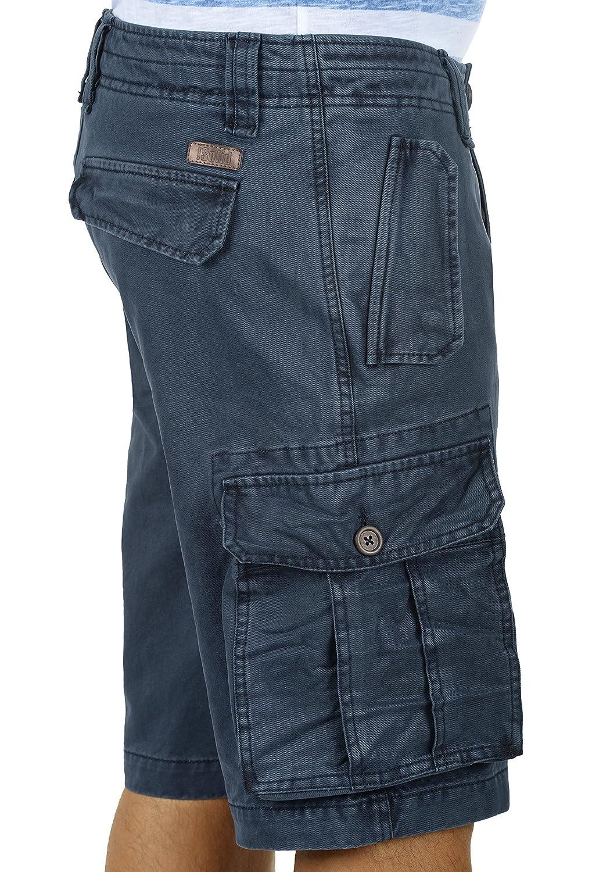 !Solid Pombal Pantaloncini Cargo Bermuda Shorts Pantaloni Corti da UomoIn Cotone 100/% Regular Fit