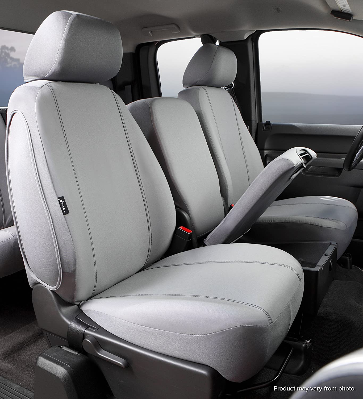 Fia SP82-38 BLACK Custom Fit Rear Seat Cover Split Seat 60//40 Poly-Cotton, Black