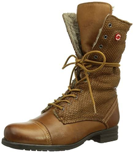NOBRAND Outcast, Womens Boots, Brown (Cuero Fish 17), 7 UK