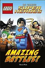 LEGO® DC Comics Super Heroes Amazing Battles! (DK Readers Level 2) Kindle Edition