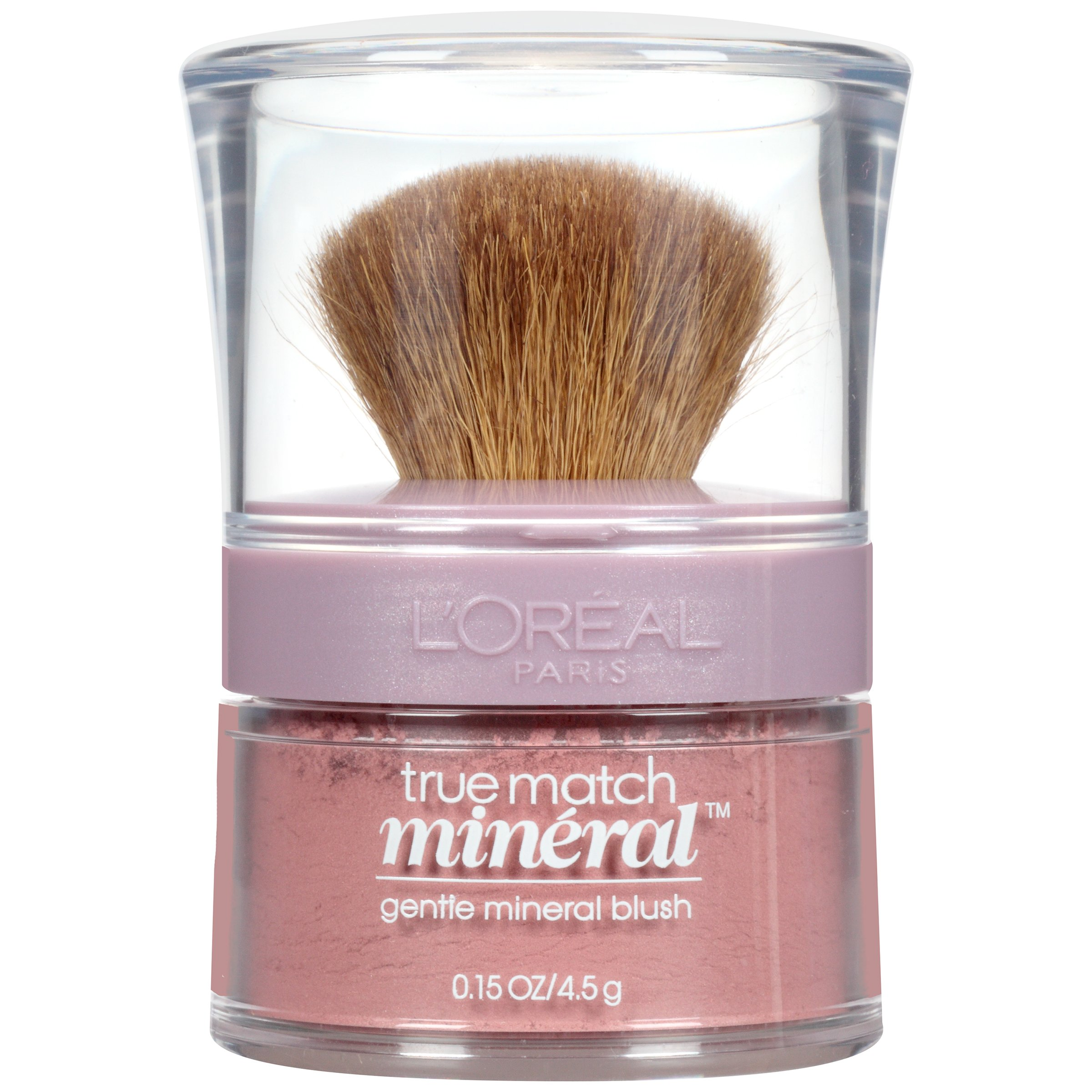 L'Oréal Paris Makeup True Match Loose Powder Natural Mineral Blush, Soft Rose, 0.15 oz. by L'Oreal Paris (Image #1)