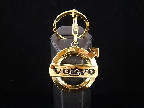 24 K oro acabado lujo Volvo coche Llavero S60 S40 todos los ...