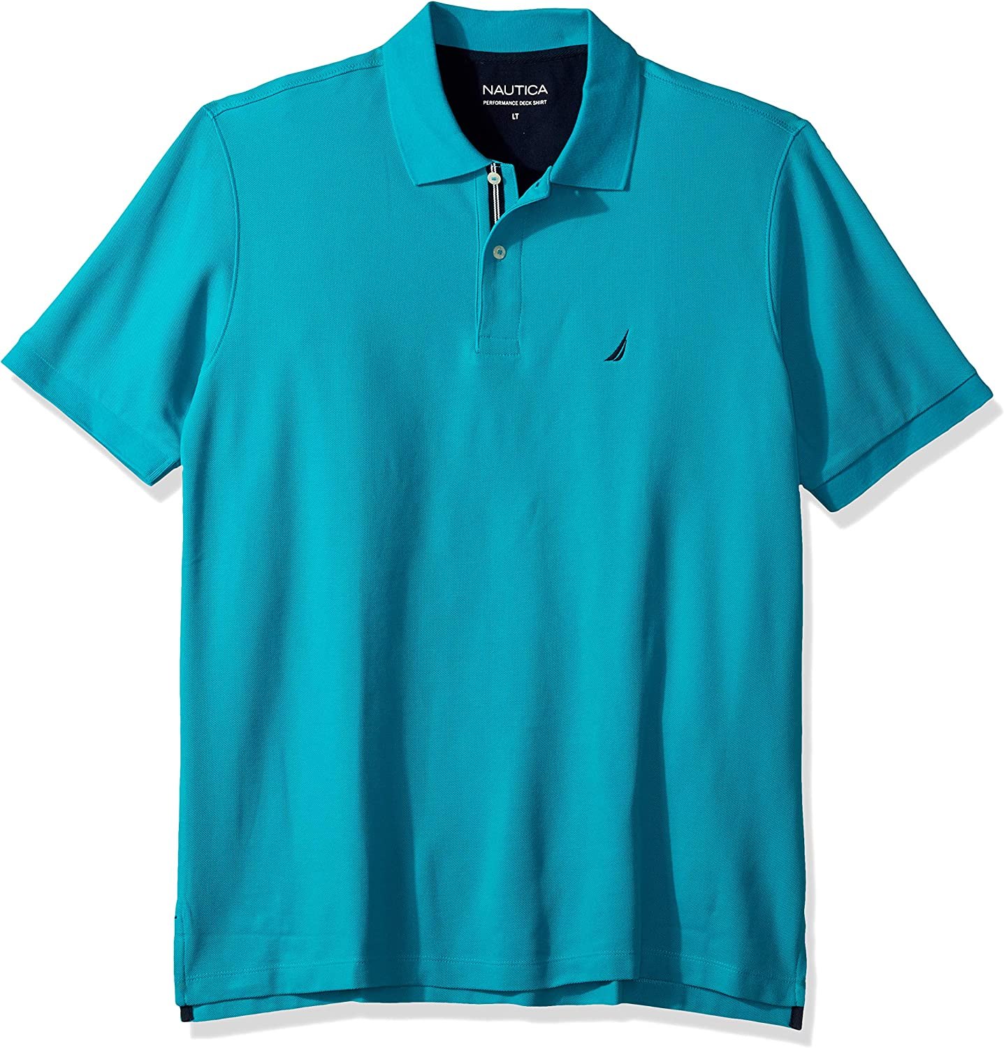 Nautica Men's Big and Tall Classic Sleeve Short Fit New item Perfor Solid Purchase