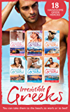 Irresistible Greeks Collection (Mills & Boon e-Book Collections)
