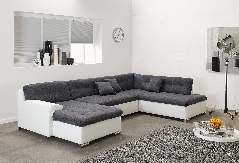 Amüsant Wohnlandschaft Xxl Mit Schlaffunktion Galerie Von Arbd Wohnlandschaft, Couchgarnitur U-form, Rocky 325 X205cm