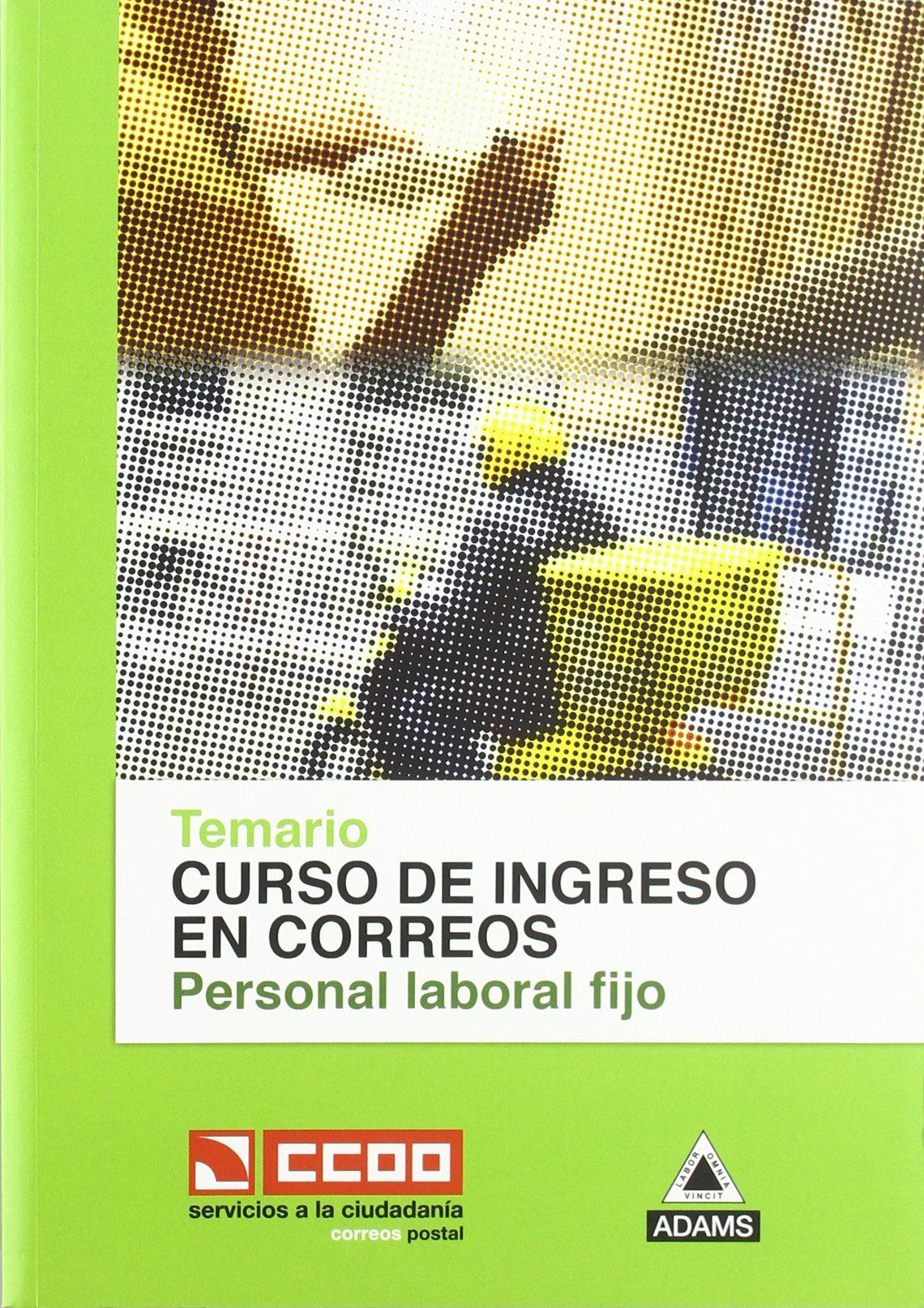 Temario Personal Laboral Fijo De Correos: Amazon.es: Aa.Vv.: Libros