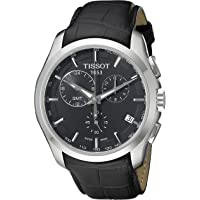 Tissot T-Trend Couturier Chronograph GMT Black Dial Men's Watch