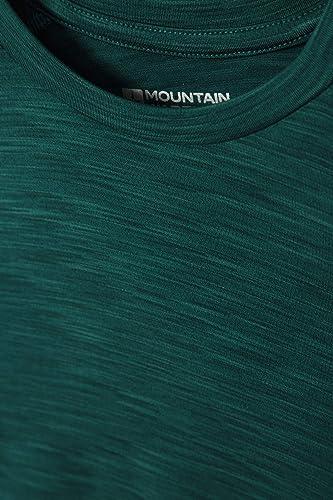 Altamente Traspirante Ideale per Camminate attivit/à allaperto Viaggi t-Shirt Leggera Mountain Warehouse Maglietta Space Dye per Bambini Elasticizzata Sport